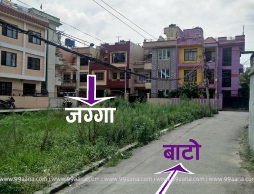 Land for Sale at Pepsicola, Bhaktapur