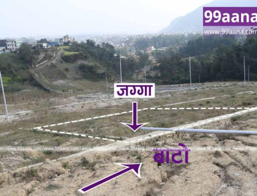 Land for sale at Goldhunga