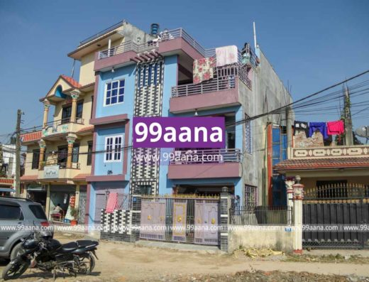 Commercial house for sale at Kageshwori Manohara-8, Om Tole, Kathmandu