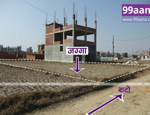 Land for sale at lubhu