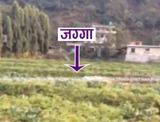 Land for sale at dhading