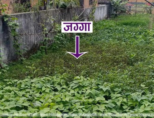 Land for sale at chamati