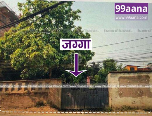 Commercial land for sale at Sanepa, Lalitpur
