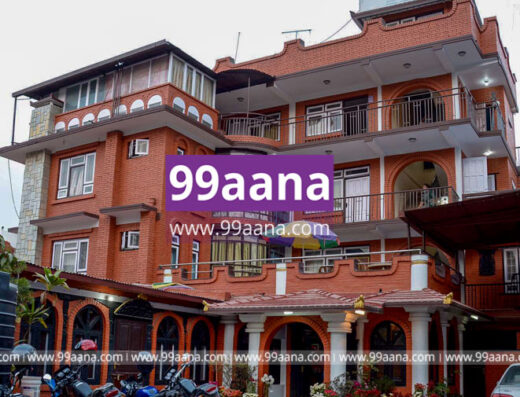 Beautiful House with hotel for sale at Chakrapath, Kathmandu