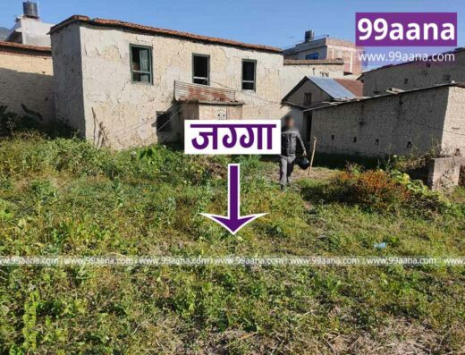 Land for Sale at Bageshwori, Bhaktapur