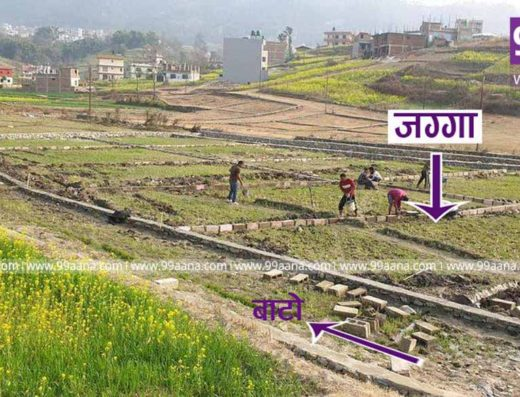 Plotting land for sale at Lubhu, Lalitpur